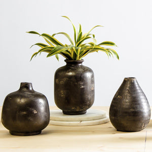 Cana Ceramic  Natural Vase