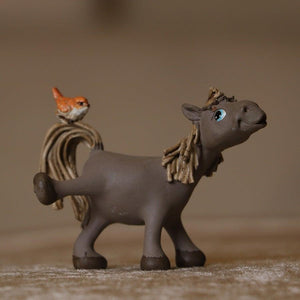 Long Walk Horse Brown Mini Object