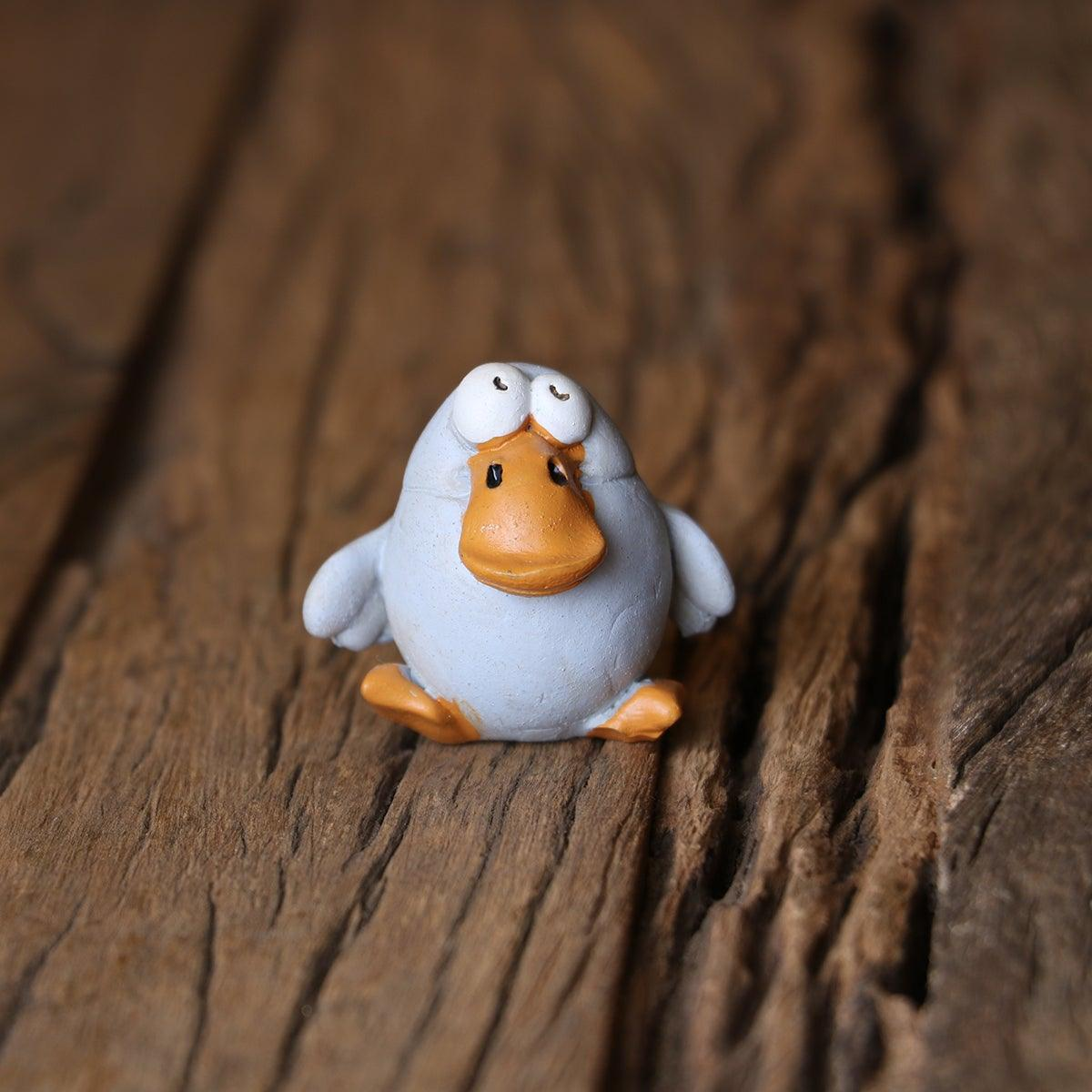 Quack- Quack Duck Brown Mini Object