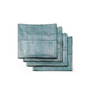 Neue Napkin Set Of 4 Aqua