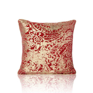Chloe 18 In X 18 In Red Cushion
