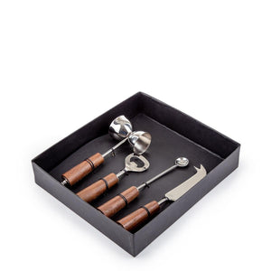Sanco Bartool Set Of 4 Silver