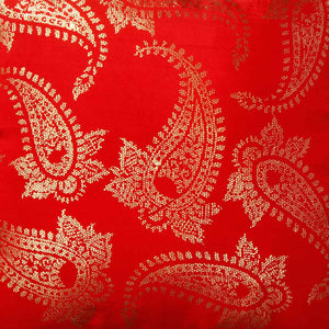 Carrey 18 In X 18 In Red Cushion Cover