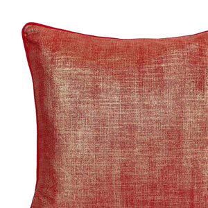 Jemma 20 In X 20 In Red Cushion
