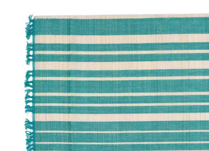 Chic Placemat Set Of 6 Aqua