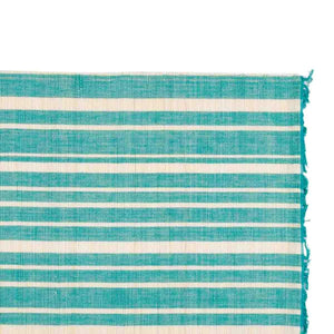 Chic Table Runner Aqua