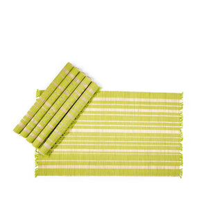 Chic Placemat Set Of 6 Green