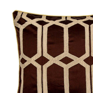 Natalaya 18 In X 18 In Cushion Cover Latte