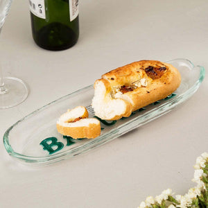 Baguette Oval White Serving Platter