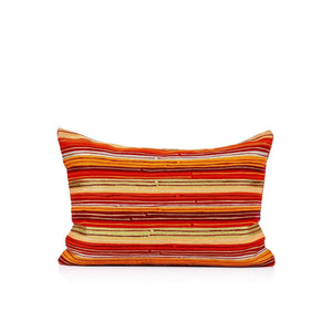 Anando 14 In X 20 In Orange Cushion Cover