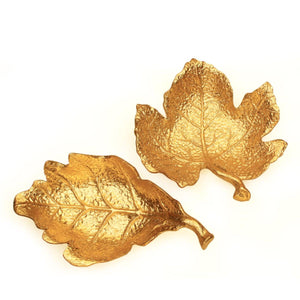 Oak Gold Leaf Wall Decor