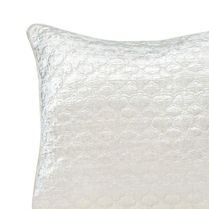Laos 20 In X 20 In Ivory Cushion Cover