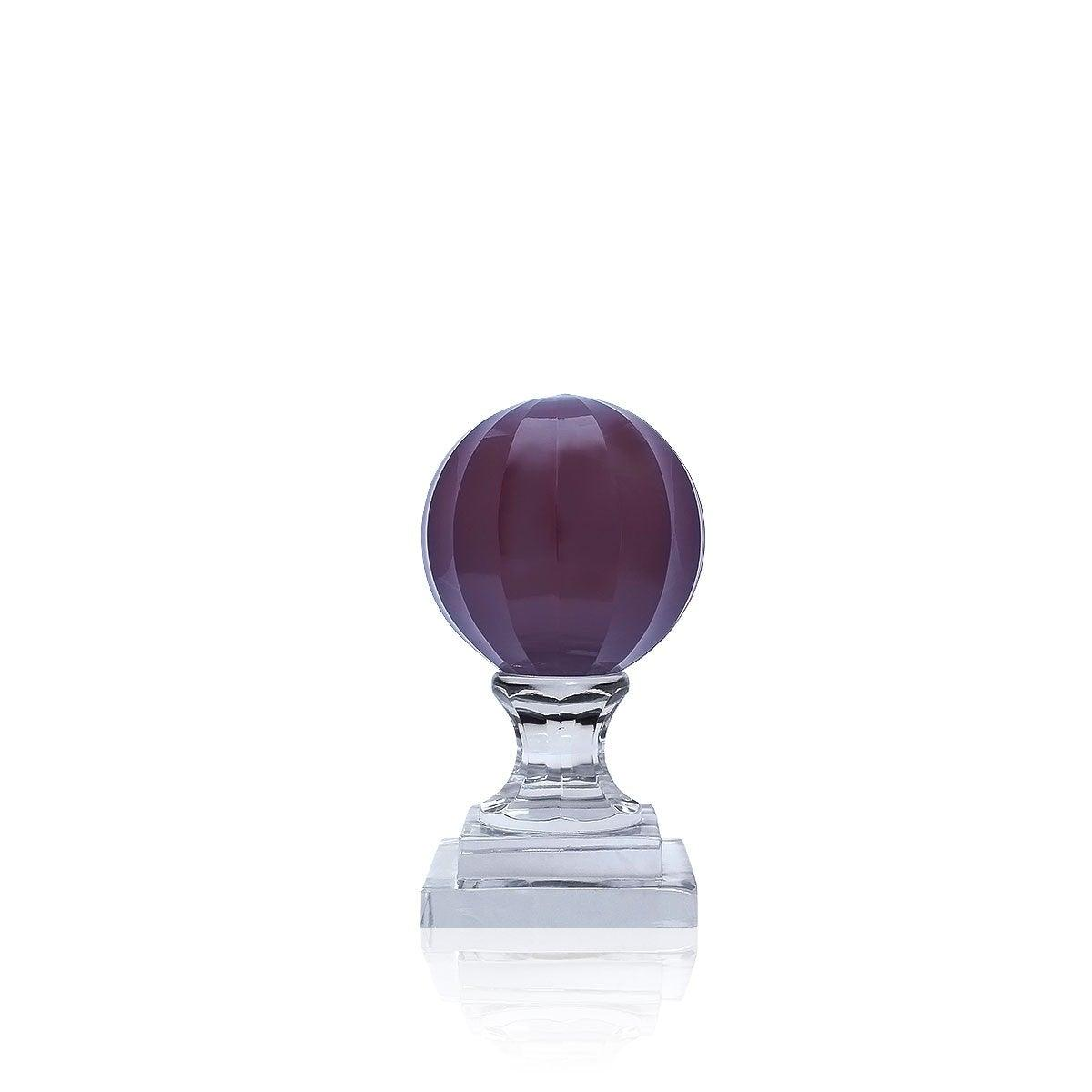 Krisralli Purple Ball With Transparent Base