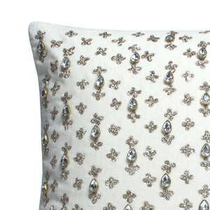 Abeer Cotton Velvet Cushion Cover