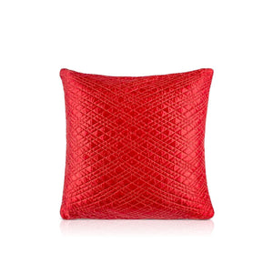 Aayan 20 In X 20 In Red Sham