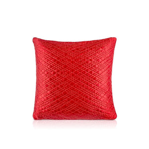 Aayan 20 In X 20 In Red Cushion Covers
