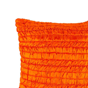 Aza 20 In X 20 In Orange Cushion Covers