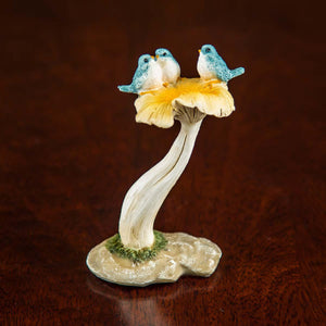 Singing Birds On Mushroom