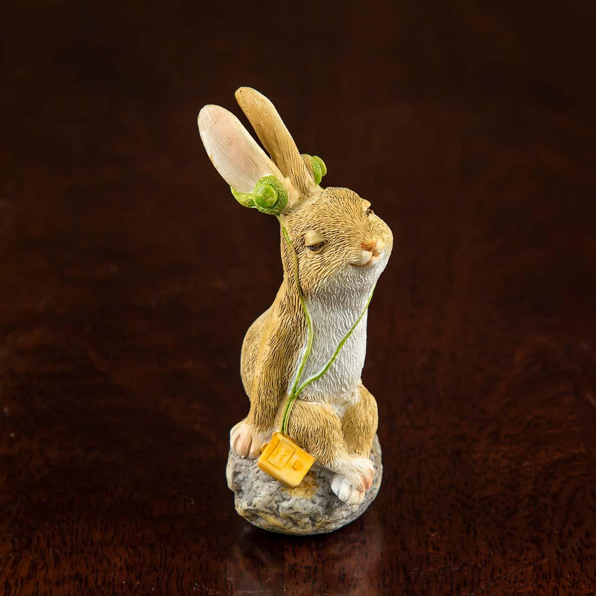 Calm Rabbit Multi Color Mini Object