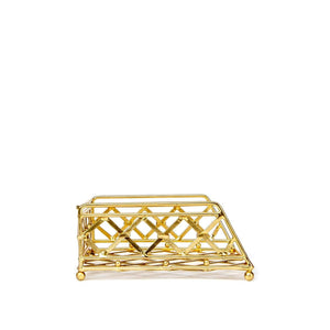 Savat Gold Napkin Holder Large