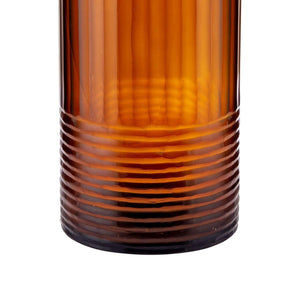 Chombo Glass Brown Vase