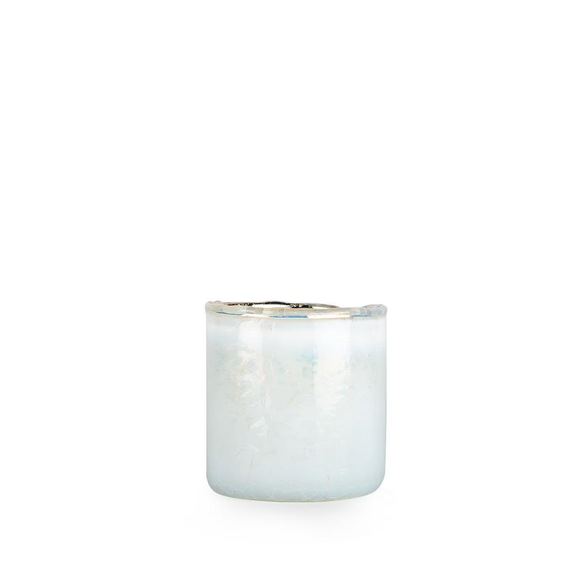 Mystic Milky White Candle Holder
