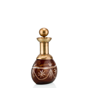 Deco. Bottle Gold/Wine
