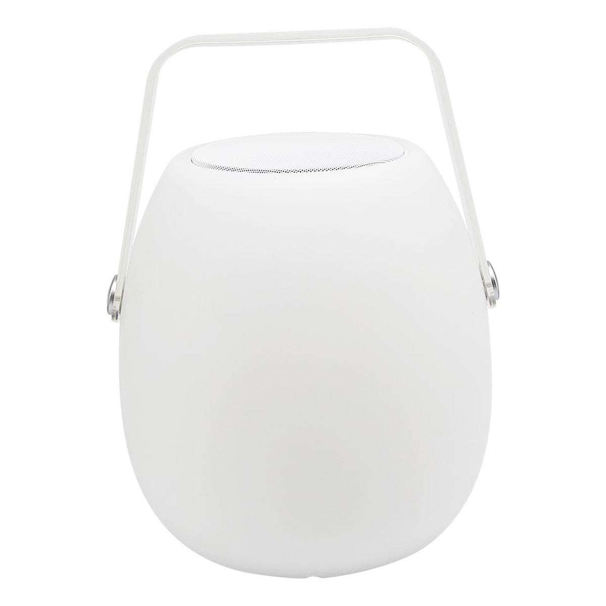 Baladeuse enceinte bluetooth sans fil LED blanc/multicolore dimmable SO PLAY H30cm avec télécommande - REDDECO.com