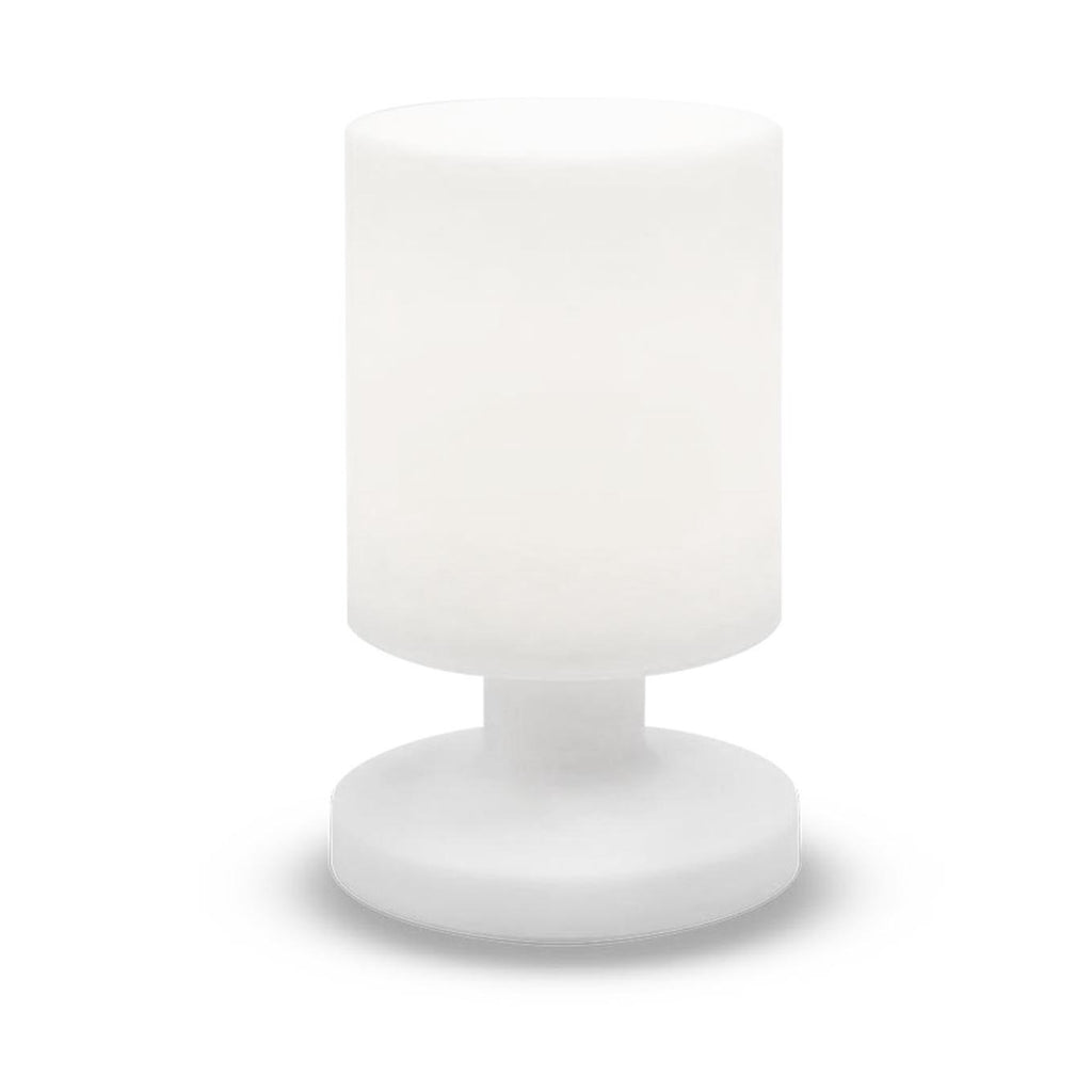 Lampe de table sans fil LED blanc chaud dimmable LILY W26 H26cm - REDDECO.com