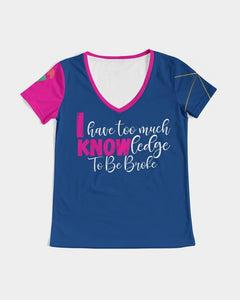 I Know Women's V-Neck Tee