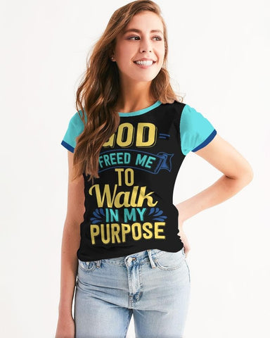 Walk In My Purpose Hoodie Women's Tee