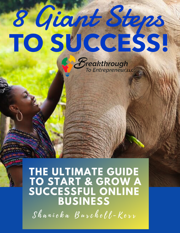 8 Giant Steps to Success E-book