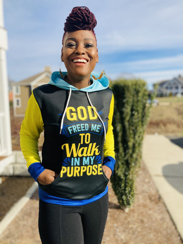 Walk In Your Purpose™️ Women's Hoodie