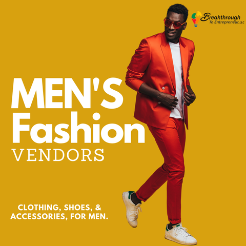 Men Fashion Vendors
