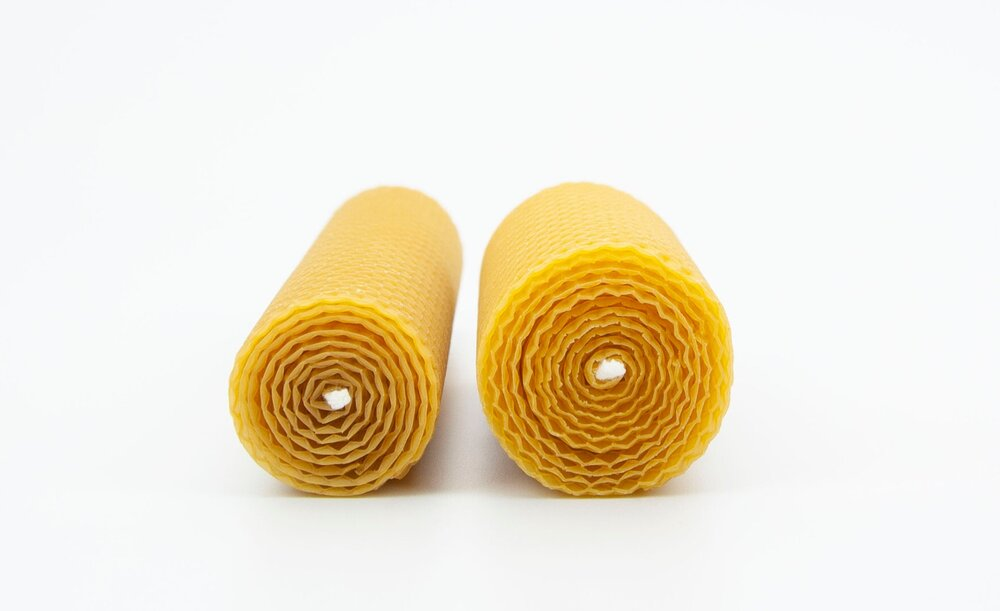 Natural Beeswax Candles