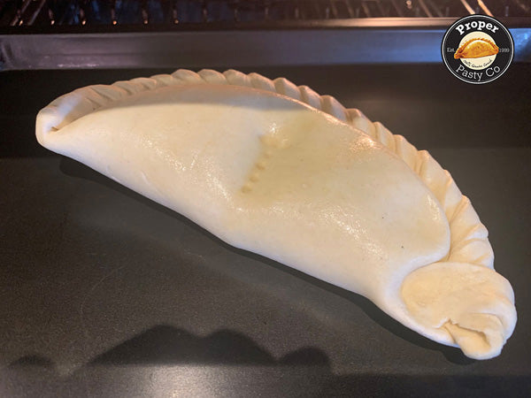 Place pasty into pre heated oven