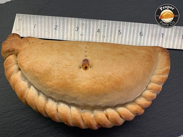283 g Pasty Size after baking