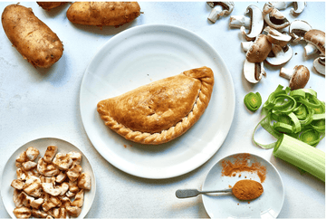 Chicken and Mushroom Pasty 255g. (36 No. Boxed) - Proper Pasty Company