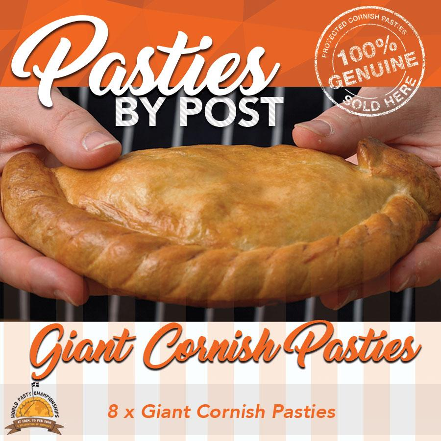 Giant Cornish Pasties by Post (8) - Proper Pasty Company