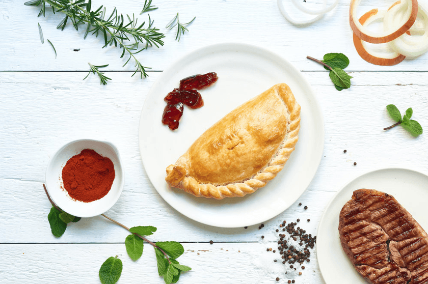 Lamb & Mint Pasty 283g. (36 No. Boxed) - Proper Pasty Company