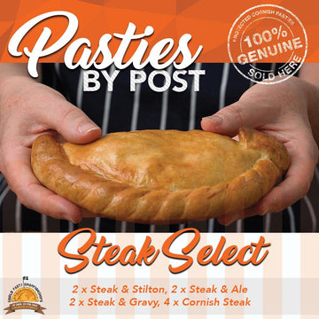 Steak Select Pasties by Post (10) - Proper Pasty Company