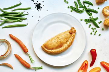 Wholemeal Vegetable Pasty 283g (36 No. Boxed) - Proper Pasty Company