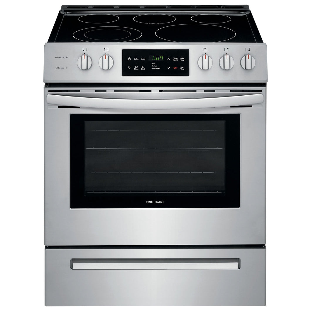 Frigidaire 30' Front Control Freestanding Electric Range - CFEH3054US