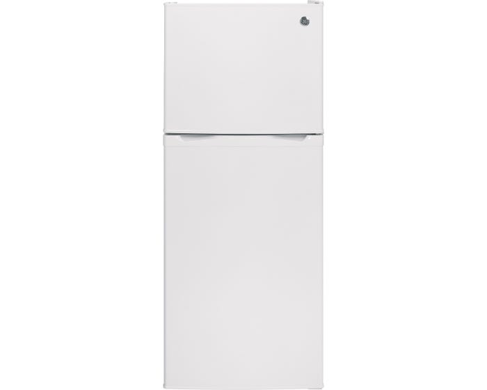 GE - 11.55 Cu. Ft. Top-Freezer Refrigerator - GPE12F