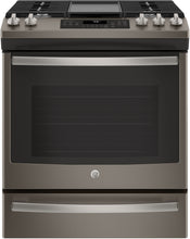 "Load image into Gallery viewer, GE - 30"" Gas Slide-In Range Convection Range - JCGS760"