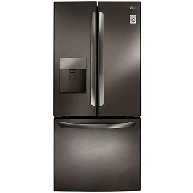 "LG - 30"" French Door Refrigerator With Exterior Water Dispenser - LFD22786"