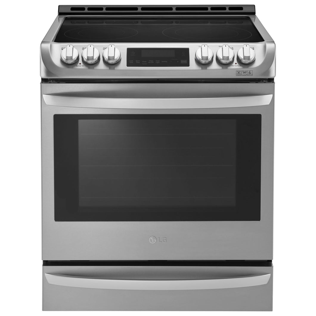 LG - 6.3 Cu.Ft Freestanding Electric Range With ProBake Convection - LSE5613