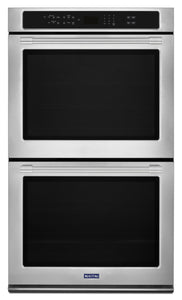 "Maytag - 27 "" 8.6 Cu. Ft. Double Wall Oven with True Convection - MEW9627FZ"