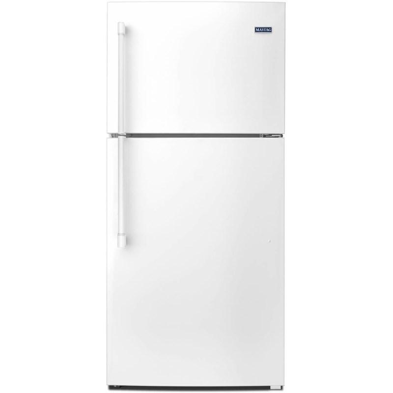 Maytag - 30-Inch Top Freezer Refrigerator with PowerCold Feature 18 Cu. Ft. - MRT519