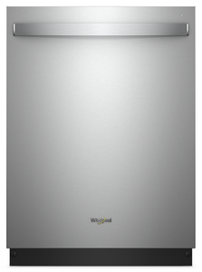 Whirlpool - Stainless Steel Tub Dishwasher with Third Level Rack - WDT970